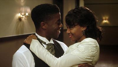 Jackie (Chad Boseman) and Rachel (Nicole Beharie) honeymoon