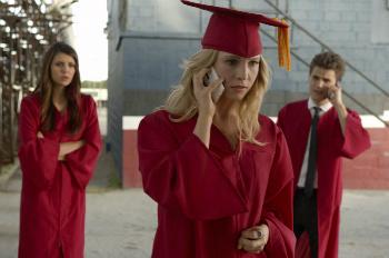 Caroline, Stefan and Elena