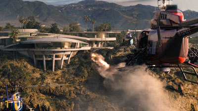 Tony's mansion attacked by Killian's 'copters