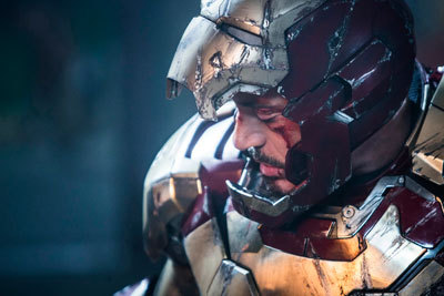 The battered Iron Man