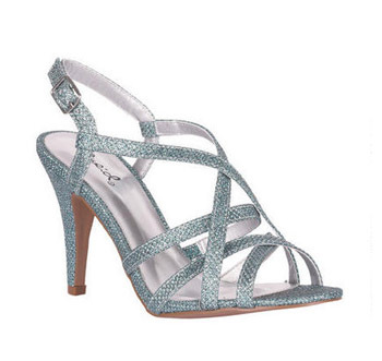 Delia's glitter sandals, $29.50