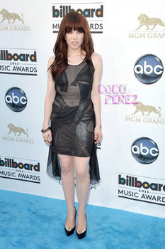 Carly Rae Jepsen's goes for a daring sheer number