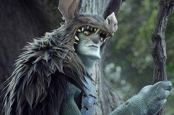 Creepy Mandrake (Christoph Waltz)