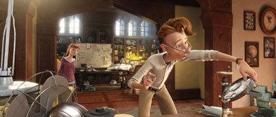 M.K. (Amanda Seyfried) and her father, Bomba (Jason Sudeikis)