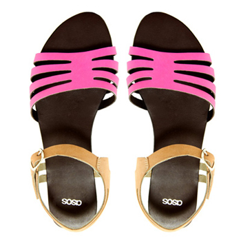 Asos flat sandals, $32