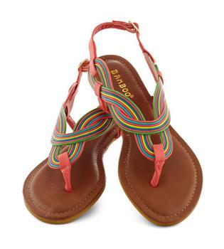Modcloth flat sandals, $29.99