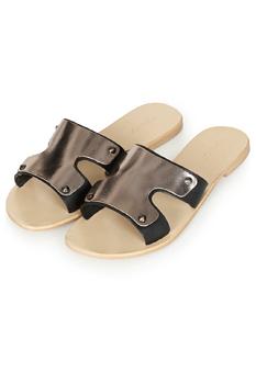 Topshop slide sandals, $45