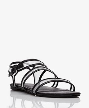 Forever 21 mesh detail sandals, $24