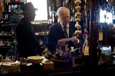 Masterminds: Morgan Freeman and Sir Michael Caine
