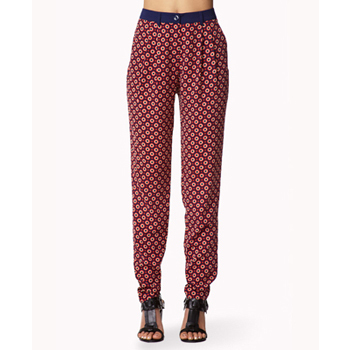 Forever 21 loose printed pants, $16.75