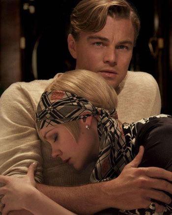 Gatsby (Leo) and Daisy (Carey)