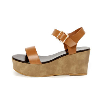Lulu's wedge sandals, $31