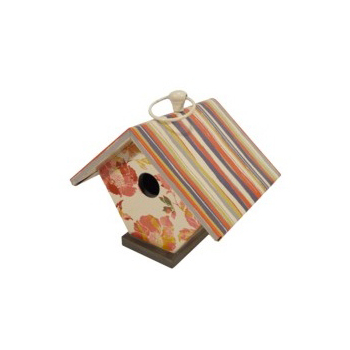 This cute birdhouse will look great in the garden, $11 at Target