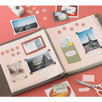 Make you mom a scrapbook - it's time to get creative!
