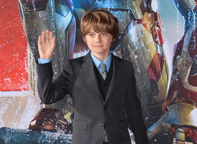Ty at Iron Man 3 premiere