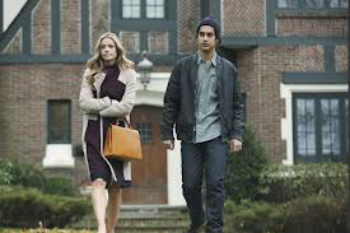 Evan Jogia and Denise RIchards