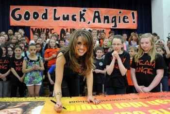 Angie Miller Visits Her Hometown