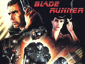 Harrison Ford stars in Blade Runner