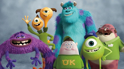 Sulley, Mike and their Fraternity brothers