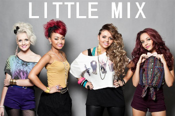 Little Mix are Perrie Edwards, Jesy Nelson, Leigh-Anne Pinnock, Jade Thirlwall