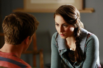 Spencer and Toby can't figure out if Red Coat saved them