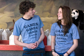 Jesse and Kristen Stewart in Adventureland