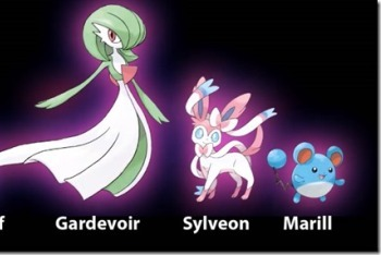 Some of the confirmed Fairy types