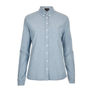 Topshop light denim shirt, $32
