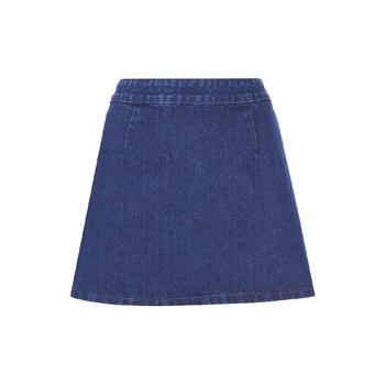 Topshop denim skirt, $30