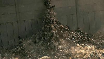 Zombies climb like ants!