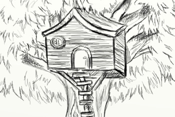 Drawing a Treehouse