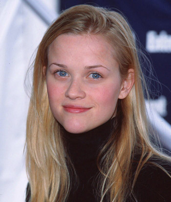 Reese Witherspoon's heart-shaped face