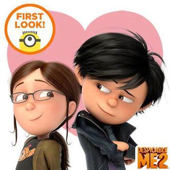 Margo with her boyfriend Antonio