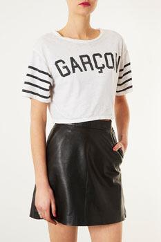 Topshop Garcon top, $16