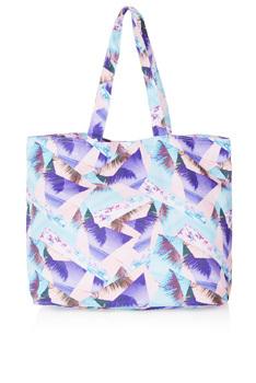 Topshop printed tote bag, $30