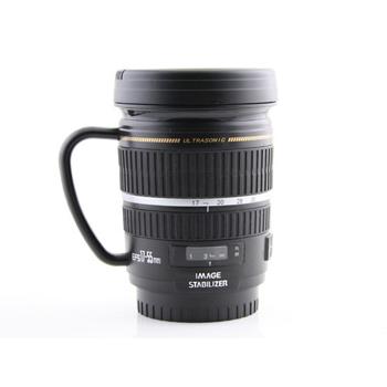Camera lens mug, $18