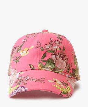Forever 21 floral baseball cap, $7.40