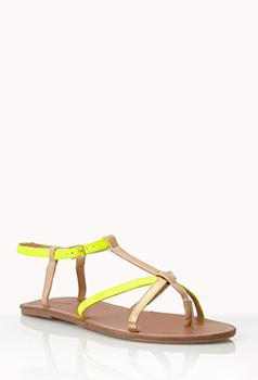 Forever 21 sandals, $7.40