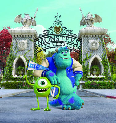 Mike and Sulley Talk Monsters University