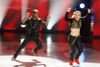 Mariah and BluPrint Performing Hip Hop