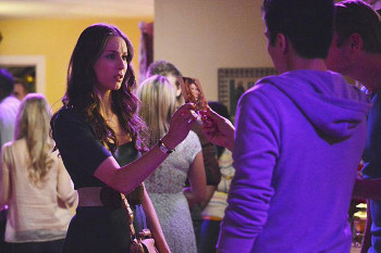 Spencer tries to uncover clues at a sorority shindig