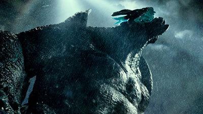 One of the giant Kaijus