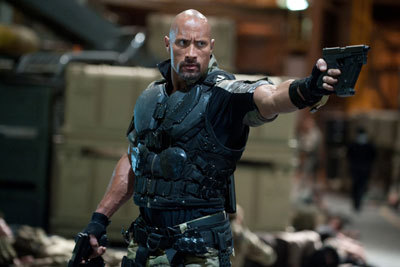 Dwayne The Rock Johnson as Roadblock