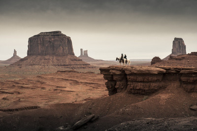Tonto and the Ranger in Monument Valley