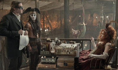 Ranger and Tonto visit Red
