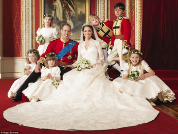 William and Kate were married April 2011