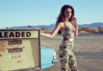 Selena in In Style, June 2013