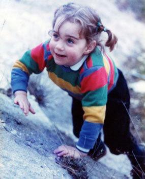 Kate at age 3