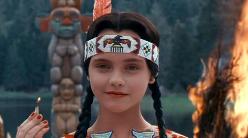 "Wednesday Addams is a ""firecracker"" at camp"