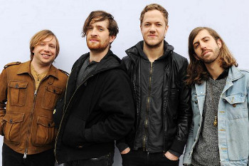 Wayne Sermon, Dan Reynolds, Ben McKee and Daniel Platzman make up Imagine Dragons
